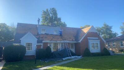 West Chicago (roof siding gutters)